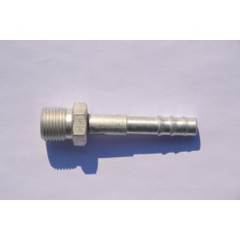 Końcówka węża klimatyzacji gwint 3/8 prosta Fi 8 mm