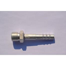 Końcówka węża klimatyzacji gwint M16x1,5 prosta Fi 8 mm