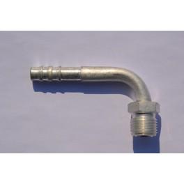 Końcówka węża klimatyzacji gwint M16x1,5 90* Fi 8 mm