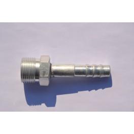 Końcówka węża klimatyzacji gwint M22x1,5 prosta Fi 10 mm