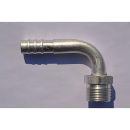 Końcówka węża klimatyzacji gwint M24x1,5 90* Fi 13 mm